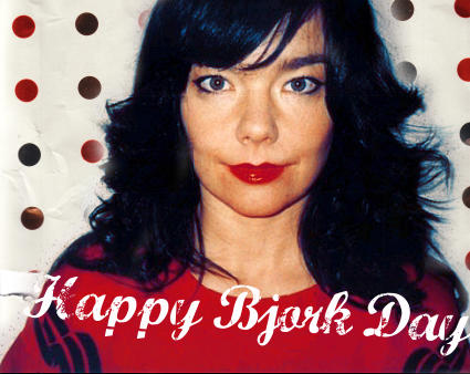 Happy Björk Day